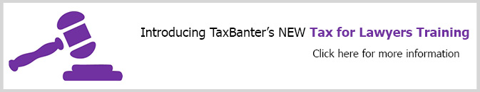 Click for information on Tax for Lawyers